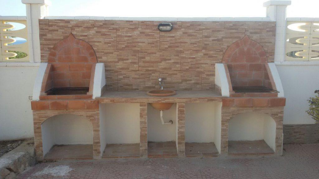 Le Palme Lampedusa appartamento Giglio barbecue