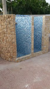 Le Palme Lampedusa appartamento Giglio docce esterne