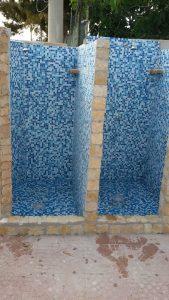Le Palme Lampedusa appartamento Giglio doccia esterna