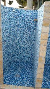 Le Palme Lampedusa appartamento Giglio doccia esterna2